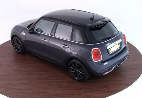 MINI COOPER S (04/2015) - GREY METALLIC - lieu:
