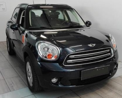 lhd MINI COUNTRYMAN (03/2015) - BLUE METALLIC - lieu: