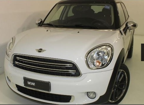 lhd MINI COUNTRYMAN (07/2015) - WHITE METALLIC - lieu: