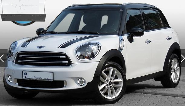 lhd MINI COUNTRYMAN (09/2015) - WHITE - lieu: