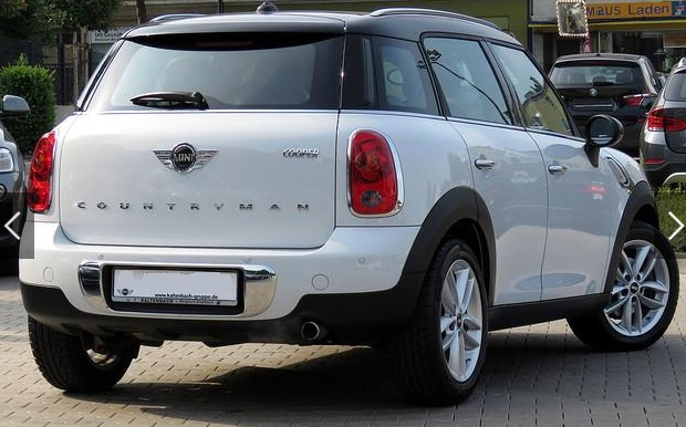 MINI COUNTRYMAN (09/2015) - WHITE - lieu: