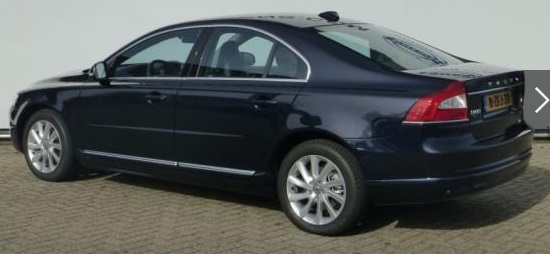 VOLVO S80 (01/2015) - BLUE METALLIC - lieu: