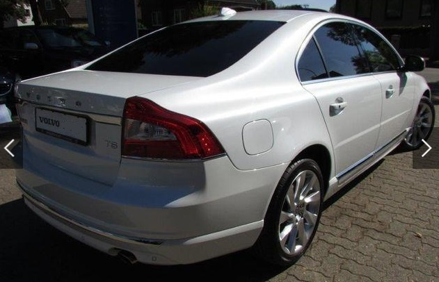 VOLVO S80 (05/2015) - WHITE METALLIC - lieu: