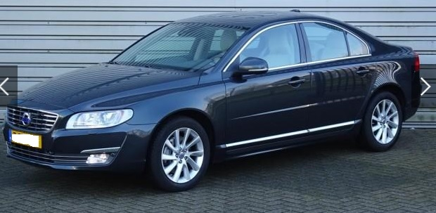 lhd VOLVO S80 (07/2015) - GREY METALLIC - lieu: