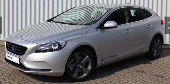 lhd VOLVO V40 (03/2015) - GREY METALLIC - lieu: