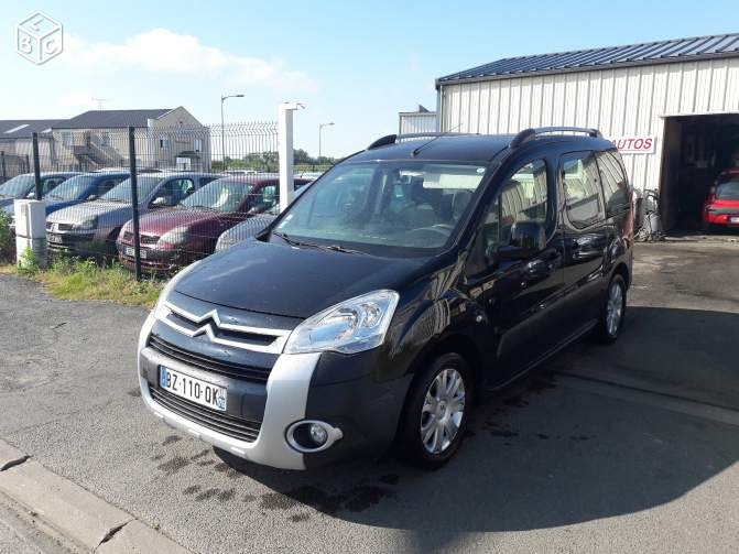 lhd CITROEN BERLINGO (10/2011) - DARK BLUE - lieu: