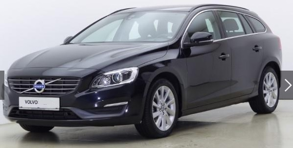 VOLVO V60 (03/2015) - BLACK METALLIC - lieu:
