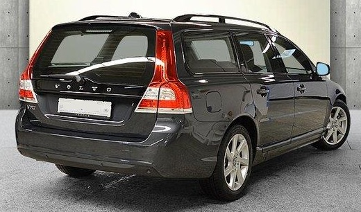 VOLVO V70 (11/2015) - GREY METALLIC - lieu: