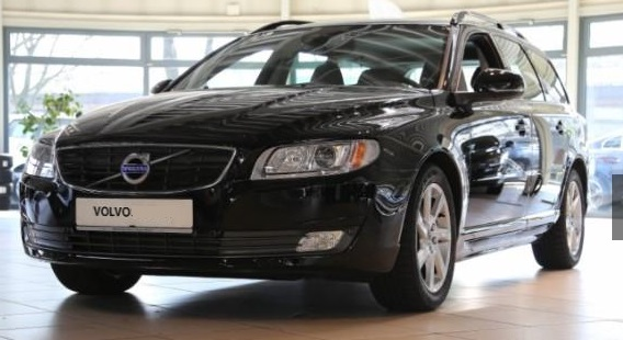 VOLVO V70 D3 Black Edition
