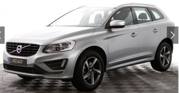 VOLVO XC 60 (06/2015) - GREY METALLIC - lieu: