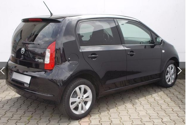 SKODA CITIGO (06/2015) - BLACK METALLIC - lieu: