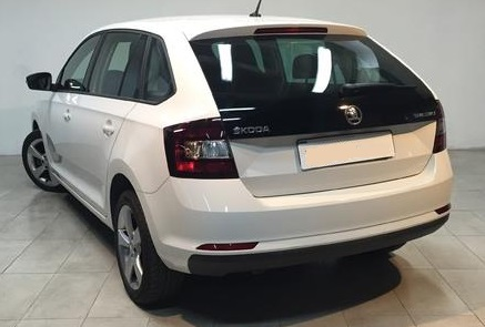 SKODA RAPID (07/2015) - WHITE - lieu: