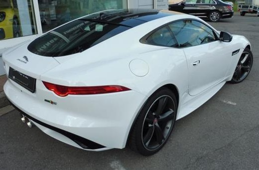 JAGUAR F TYPE (06/2015) - WHITE - lieu: