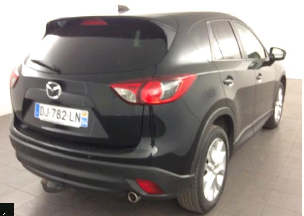 Lhd MAZDA CX-5 (08/2014) - BLACK