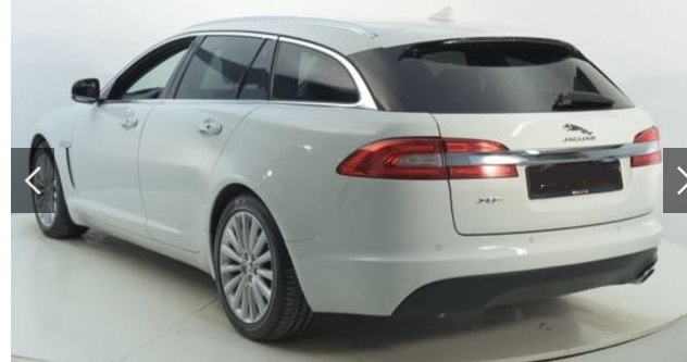 Left hand drive JAGUAR XF  Sportbrake 2.2 D 200 CV Business Edit