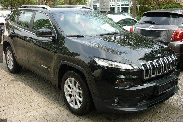 lhd JEEP CHEROKEE (03/2015) - BLACK METALLIC - lieu: