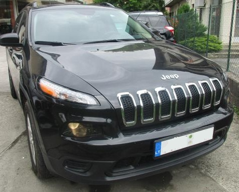 JEEP CHEROKEE (11/2015) - BLACK - lieu: