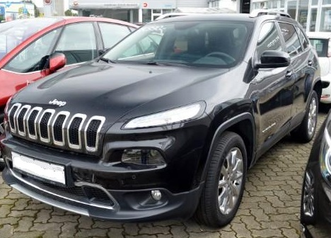 Left hand drive JEEP CHEROKEE Serie 9 Limited 2.2l MultiJet 4WD