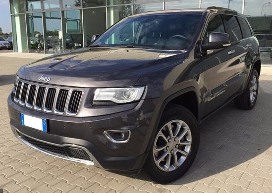 lhd JEEP GD CHEROKEE (06/2015) - GREY METALLIC - lieu: