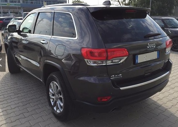 JEEP GD CHEROKEE (06/2015) - GREY METALLIC - lieu: