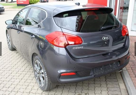 KIA CEED (07/2015) - GREY METALLIC - lieu: