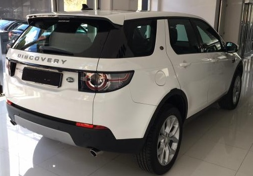 Lhd LANDROVER DISCOVERY SPORT (07/2015) - WHITE - lieu: