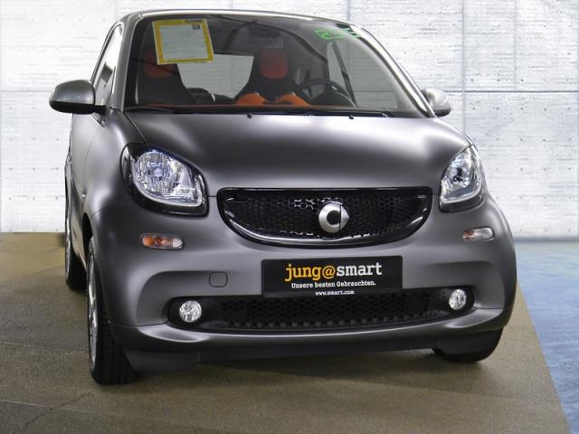 lhd SMART FORFOUR (08/2015) - GREY - lieu: