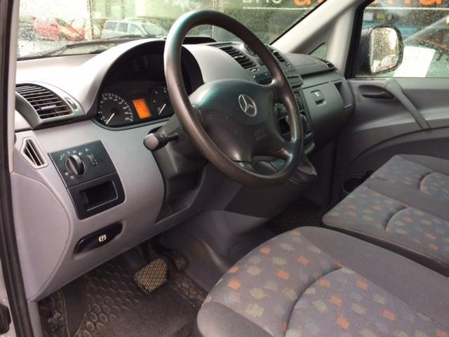 Left hand drive car MERCEDES VITO (05/2008) - GREY - lieu: