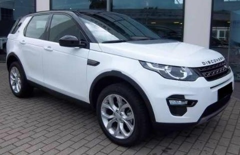lhd LANDROVER DISCOVERY SPORT (08/2015) - WHITE - lieu: