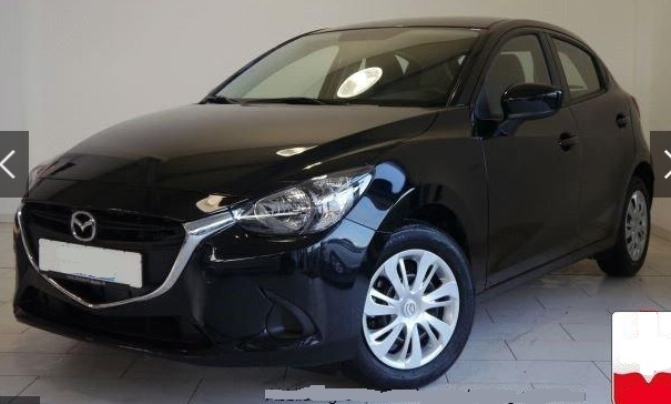 lhd MAZDA 2 (02/2016) - BLACK METALLIC - lieu: