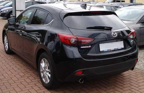 MAZDA 3 (01/2015) - BLACK METALLIC - lieu: