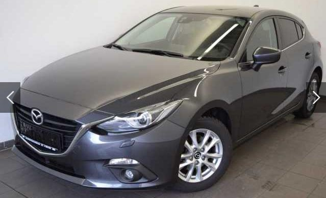 lhd MAZDA 3 (02/2015) - GREY METALLIC - lieu: