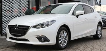 MAZDA 3 (11/2015) - WHITE METALLIC - lieu: