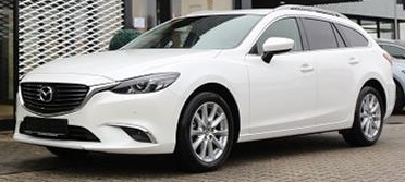 MAZDA 6 (05/2016) - WHITE METALLIC - lieu: