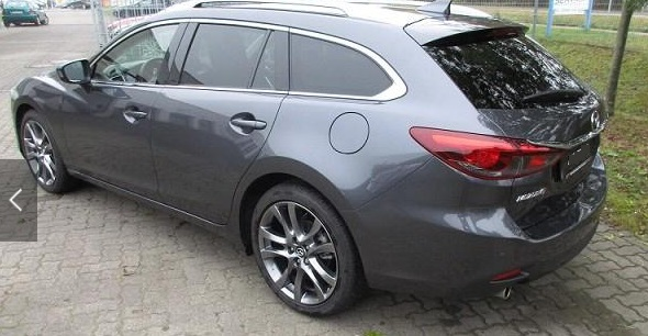 Left hand drive MAZDA 6 Kombi 2.5 AT Sports-Line Navi