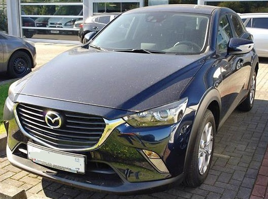 lhd MAZDA CX-3 (05/2015) - BLUE METALLIC - lieu: