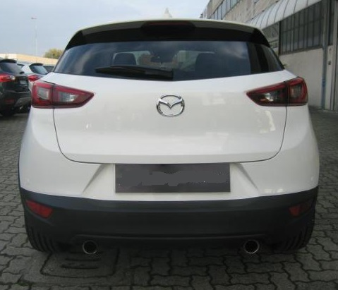 MAZDA CX-3 (12/2015) - WHITE METALLIC - lieu: