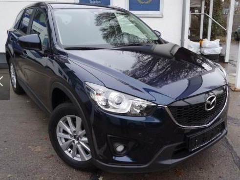 lhd MAZDA CX-5 (04/2015) - BLUE METALLIC - lieu: