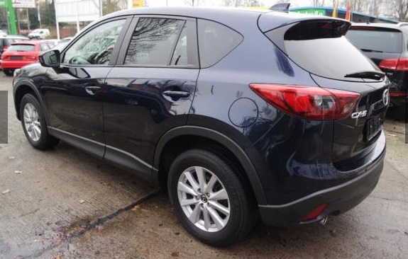 MAZDA CX-5 (04/2015) - BLUE METALLIC - lieu: