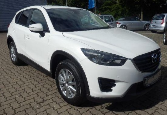 MAZDA CX-5 (10/2015) - WHITE METALLIC - lieu: