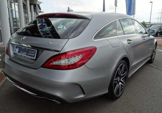 Left hand drive MERCEDES CLS CLASS 500 Shooting Brake AMG