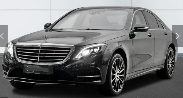 MERCEDES S CLASS 500 4M AMG Distronic Burmester Head-Up 360�
