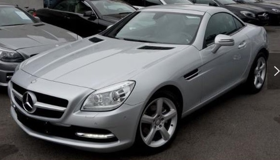 MERCEDES SLK CLASS 200 BlueEFFICIENCY **AIRSCARF ORIG. 14 TKM**