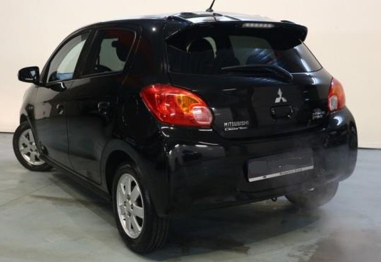 Lhd MITSUBISHI SPACE STAR (01/2015) - BLACK METALLIC - lieu: