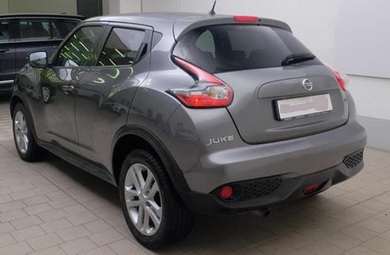 NISSAN JUKE (01/2015) - GREY METALLIC - lieu: