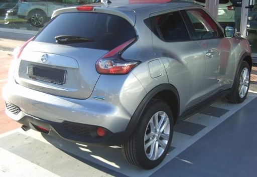 NISSAN JUKE (07/2015) - GREY METALLIC - lieu: