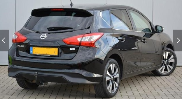 Left hand drive NISSAN PULSAR 1.2 DIG-T Connect Edition