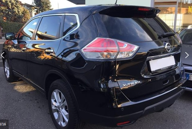 NISSAN X TRAIL (04/2015) - BLACK METALLIC - lieu: