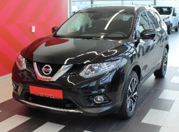 lhd NISSAN X TRAIL (02/2016) - BLACK METALLIC - lieu:
