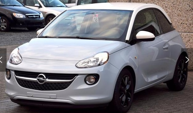 lhd OPEL ADAM (01/2016) - GREY METALLIC - lieu: